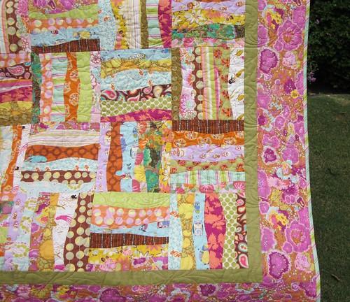 Curvy Rail Quilt 2 Funky Curvy Rail Pattern By Karla