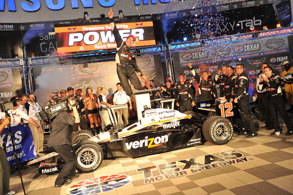 Verizon Team Penske Driver Will Power Wins Race #2 | Flickr