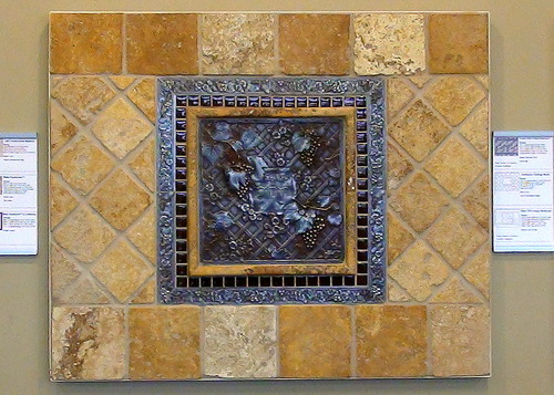Daltile Metal Signatures Ms10 Amp Sienna Gold Ts60 Tumbled T