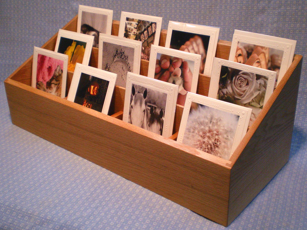 Greeting card display rack in red oak this is a custom pro flickr greeting card display rack in red oak by smile moon m4hsunfo