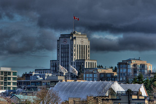 Pseudo HDR of City Hall Vancouver | by TylerIngram