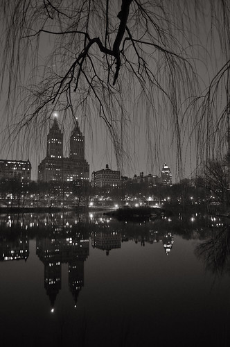 Central Park Lake at Night | by chuckyeager