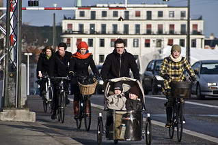 Copenhagen Cyclists | by Mikael Colville-Andersen