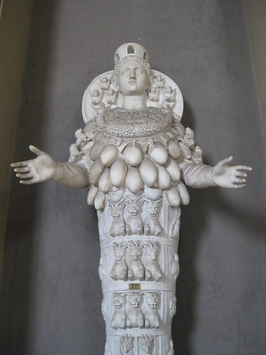 Goddess Of Fertility With Many Breasts The Vatican