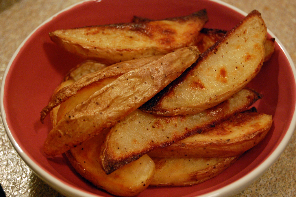 Image result for homemade potato fries