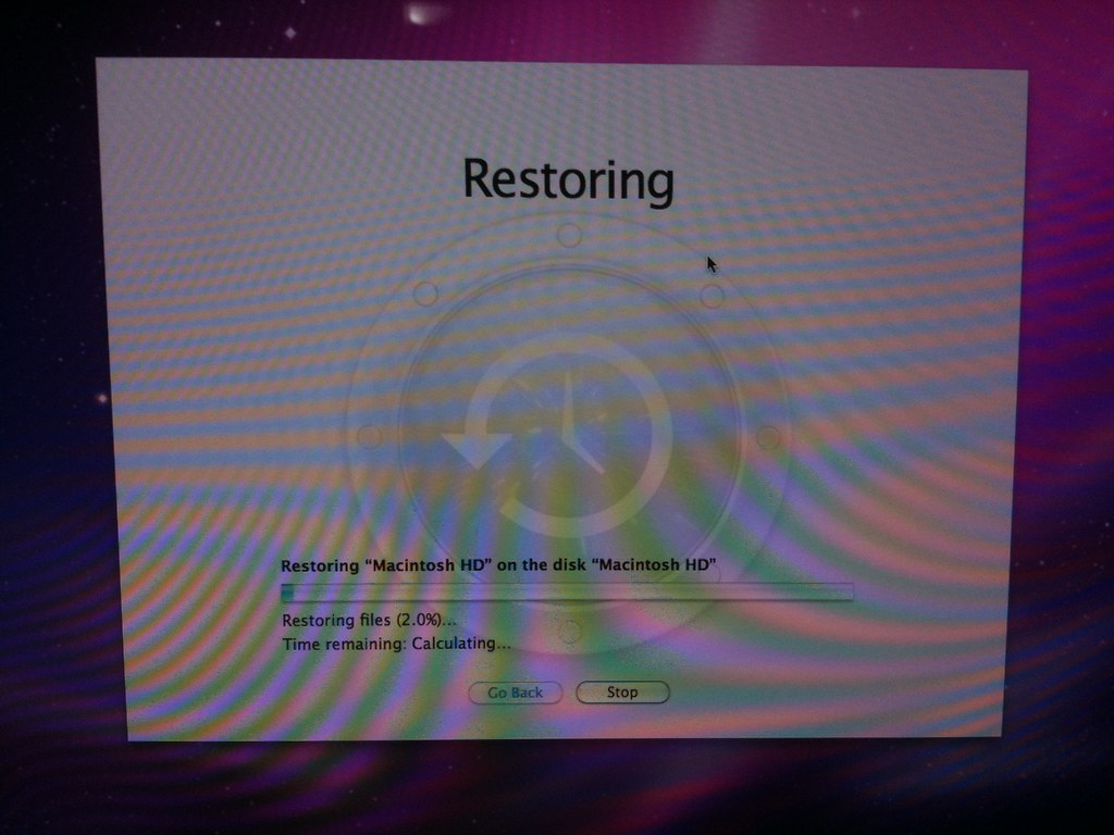 Restoring Snow Leopard from a Leopard Backup | Posted via em
