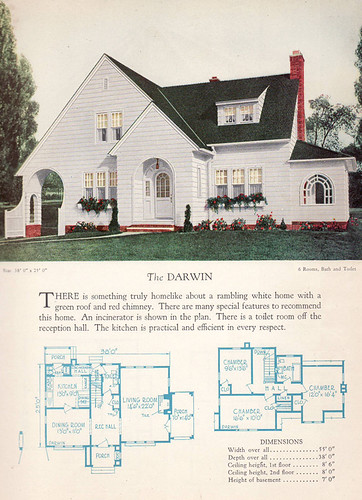 1928 home builders catalog the darwin from the