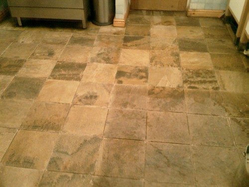 Self Cleaning Kitchen Floors