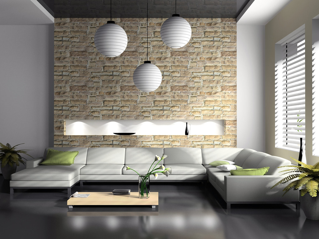 Perfect ... Modern Interior Of Drawing Room 3D Rendering | By Remodeleze