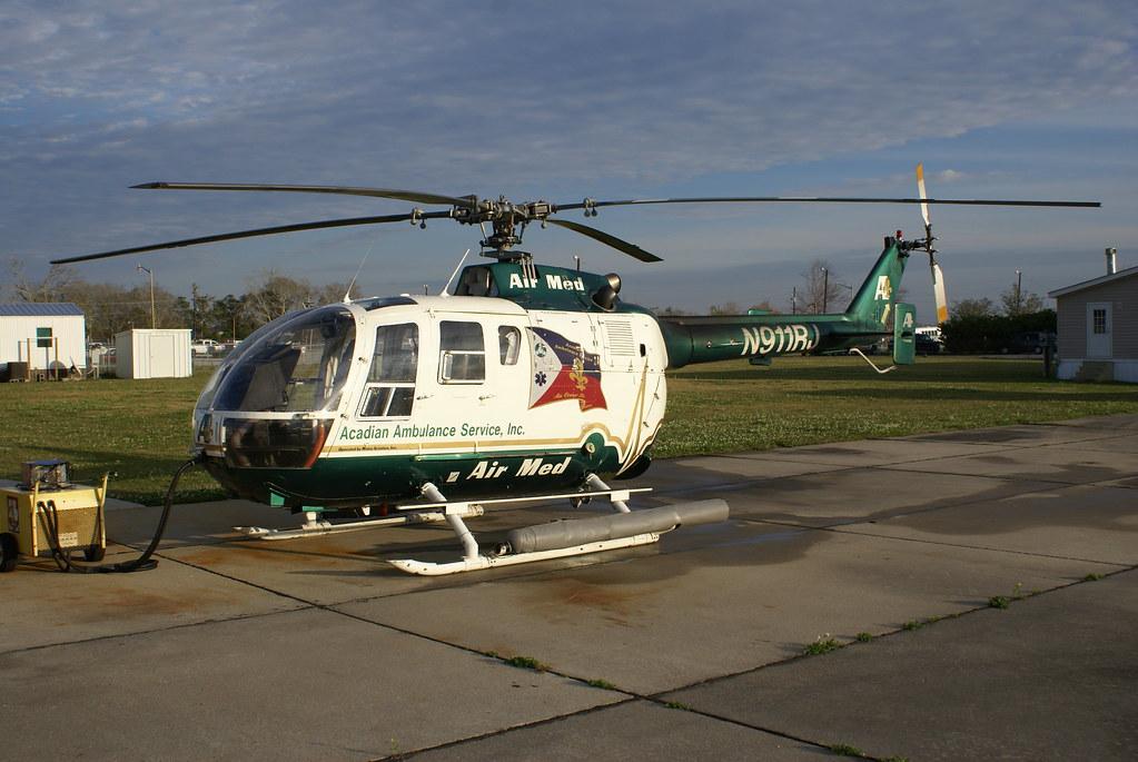 Acadian Ambulance Service Air Med 2 N911RJ | Sitting at Stat… | Flickr