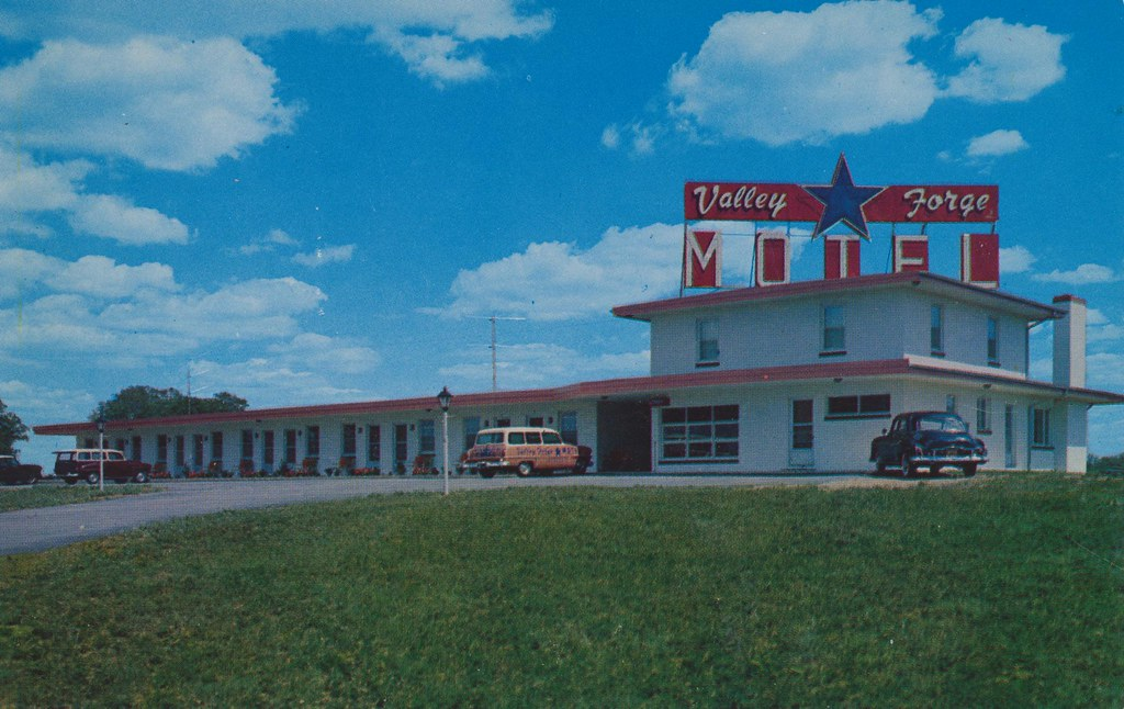 Valley Forge Motel - Downington, Pennsylvania