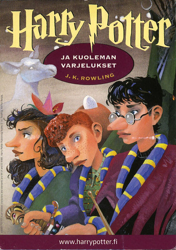 Harry Potter Books White Cover : Private swap finland mika launis illustration for