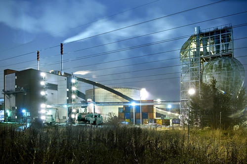 Uppsala combined heat and power plant. Central heat plant. | by Vattenfall