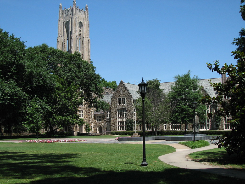 Halliburton Clock Tower And Rhodes College Administration Building