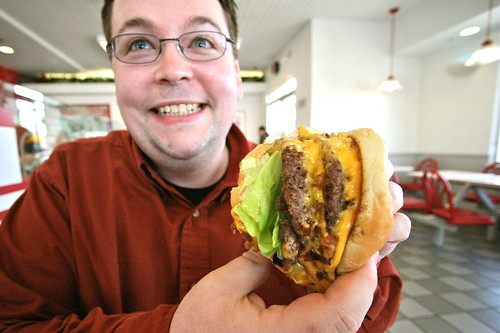 Al With In N Out Burger 4x4 Animal Style That S Four