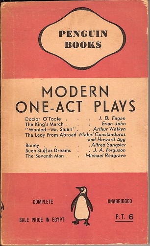 Modern Penguin Book Covers : Modern one act plays penguin book cover an ordinary