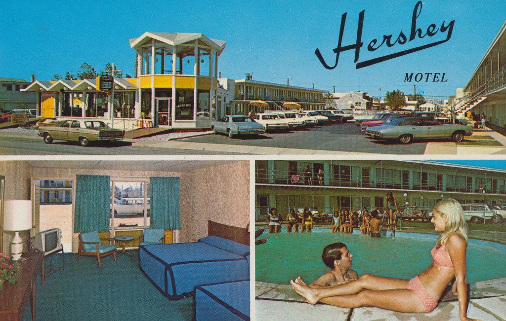 Hershey Motel - Seaside Heights, New Jersey