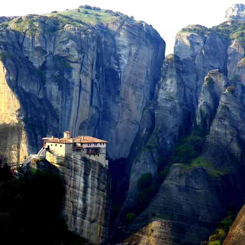 The magnificent & isolated monasteries of Meteora (Μετέωρα) | by ... Arjun