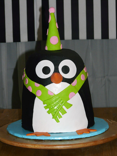 penguin cake | 5 layer...