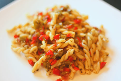 two-pepper-pasta-2 | by Sarah :: Sarah's Cucina Bella