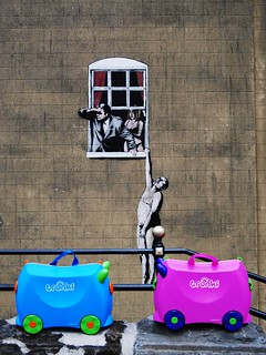 Getting a bit of culture with Banksy | by Trunki at Magmatic