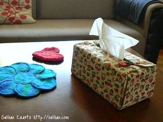 Tissue Box Cover (Living Room) | by :Salihan