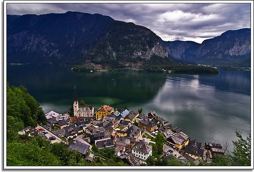Helluva View Over Hallstatt | by Nathan Bergeron Photography
