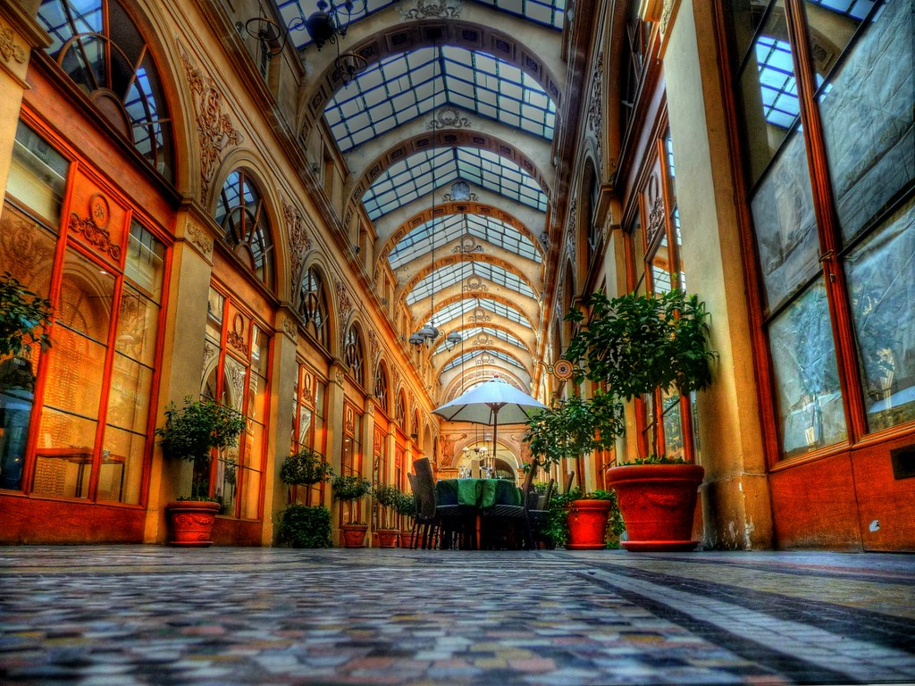 Image result for paris Covered Walkways