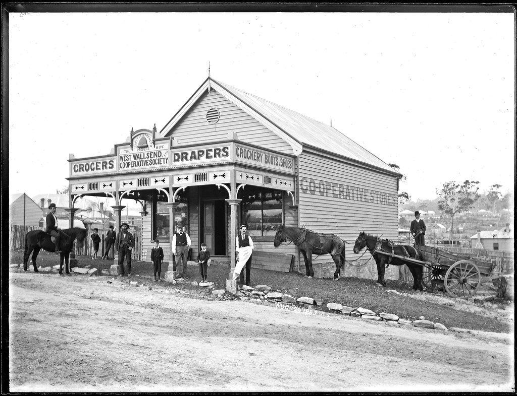 The Co Operative Store West Wallsend Nsw 29 August 1895 Flickr