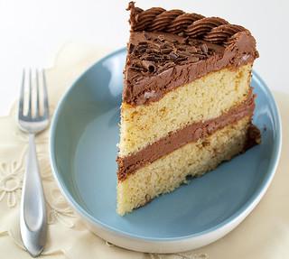 Cornmeal Chocolate Cake