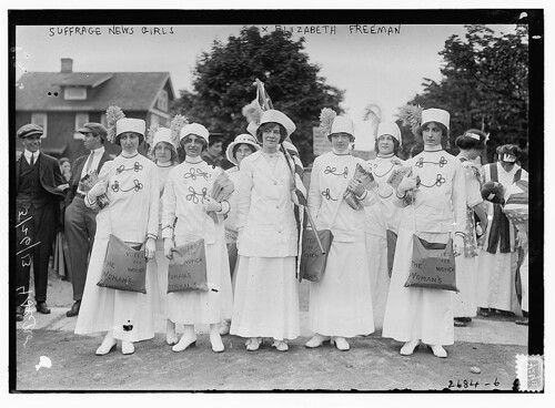 Suffrage news girls - Liz Freeman  (LOC) | by The Library of Congress