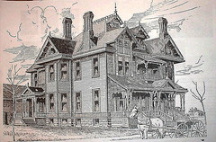 Sternberg Mansion 1886 Drawing | by kendahlarama