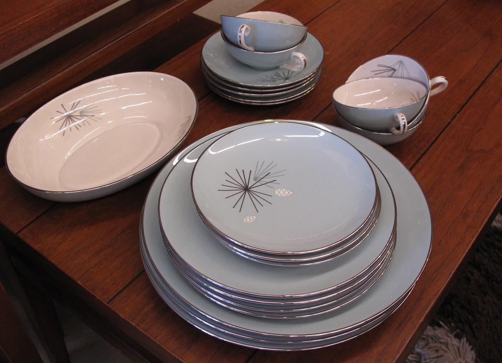 franciscan china silver pine | Gorgeous design. I would purc… | Flickr