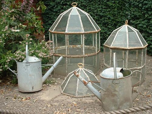 Cloches cans gamnor57 flickr for Garden cloche designs