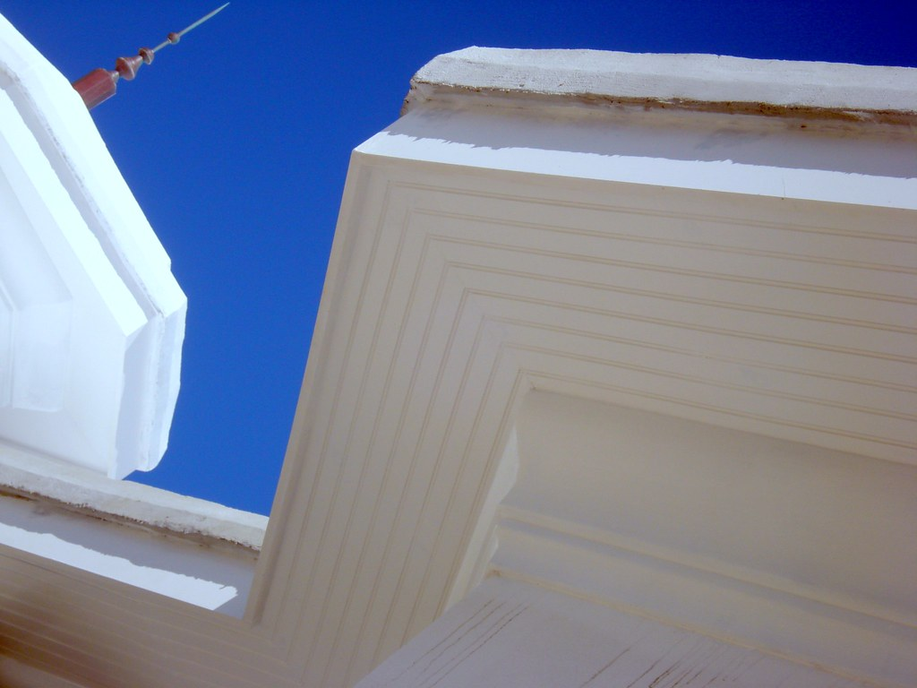 Architectural Soffit Fascia : Pvc fascia soffit and architectural brackets flickr