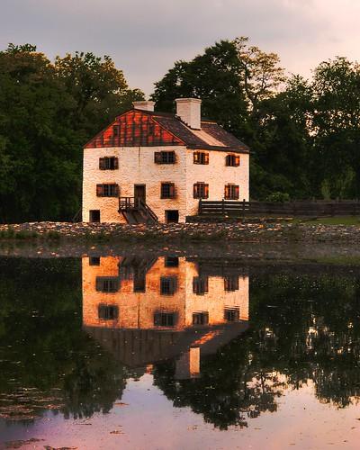 "Sleepy Hollow Philipsburg Manor Sunrise: ""The Legend Of Sleepy Hollow""#1 -- Phillipsburg Manor -- W"