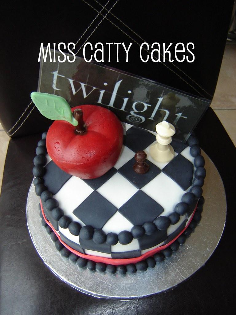 Taylors Twilight Birthday Cake Taylors Birthday Twilight Flickr
