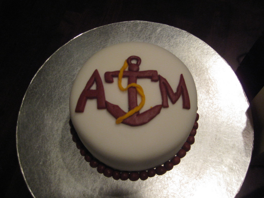 My Husbands Birthday Cake He Is A Sea Aggie At Texas Am G Flickr