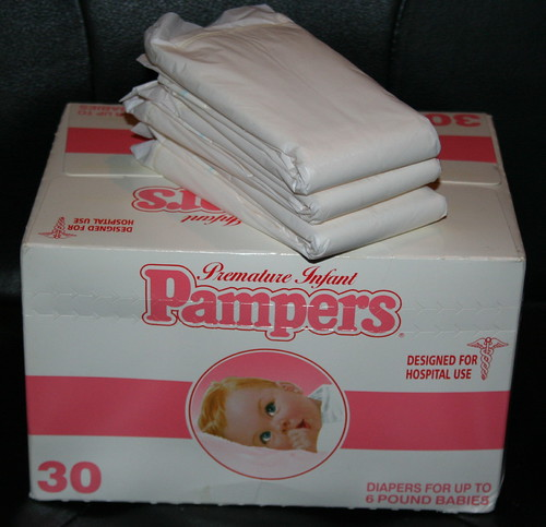 1983 pampers preemie 3 purchased on ebay for my collection flickr - Couche pampers premature ...
