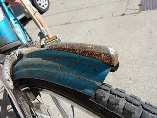 Blue's Front Fender | by Adrienne Johnson SF