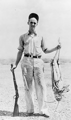Hunter With 3 Foot Grasshopper | by Galt Museum & Archives on The Commons
