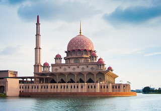 Putrajaya Mosque on Water | by Jim Boud