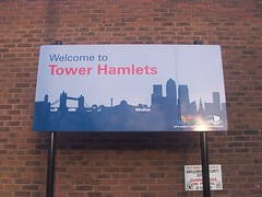 Welcome to Tower Hamlets, Hackney Wick, April 2009. | by sludgegulper