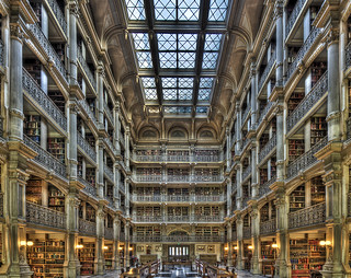 The Peabody Library | by Chuck Robinson