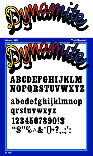 Custom dynamite magazine 1970 39 s cover template here are for Custom magazine cover templates