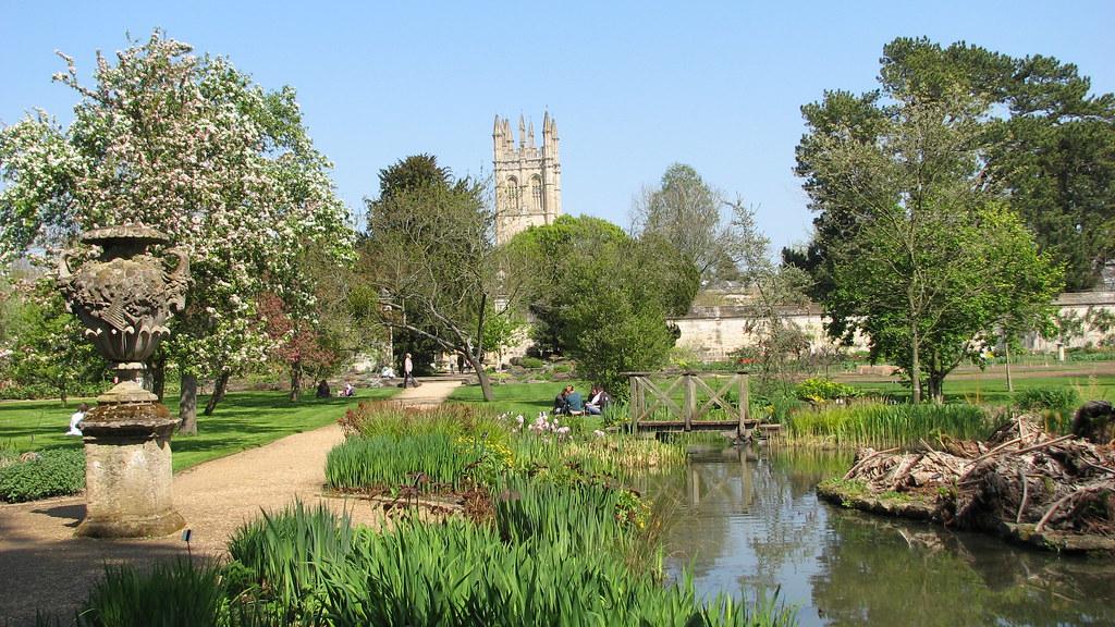 Oxford - Botanic garden