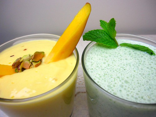 Mango and mint lassi | by SeppySills