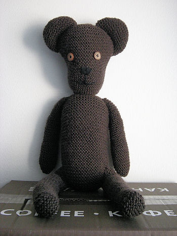 Mr. Bean Style Teddy Bear Pattern: Knitting-and.com Design? Flickr