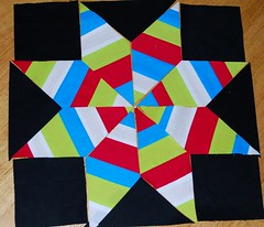 String Star Quilt Block Playing with quilt patterns | by boutiquenutmegdesigns