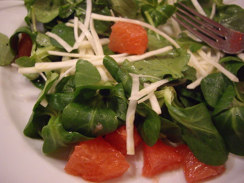 Grapefruit-Celeriac Arugula Salad | by swampkitty